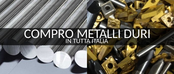 Ritiro Metallo Duro Prato