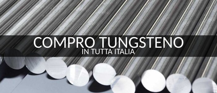 Compro Tungsteno Arezzo